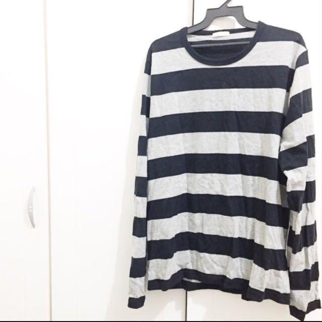 全新GU 橫條紋上衣 日本帶回 降價#爸爸節男裝八折