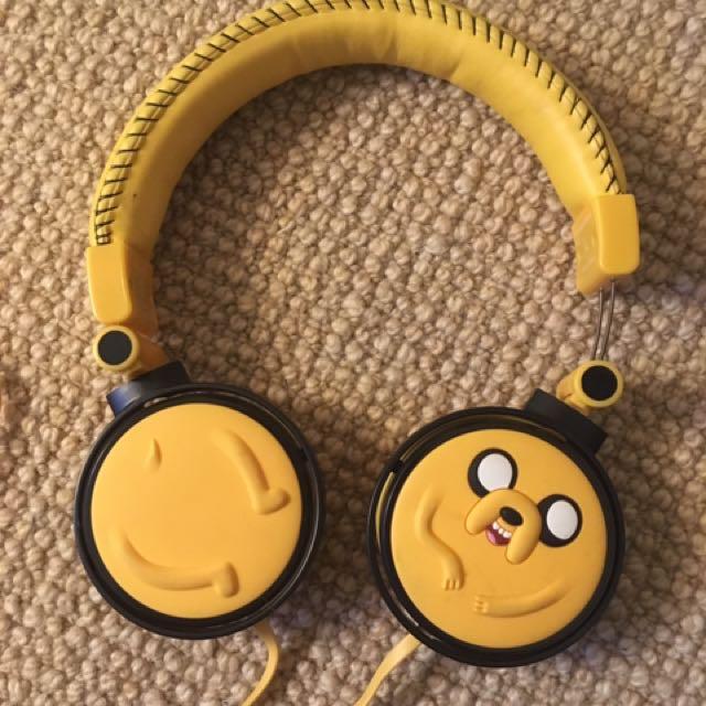 headphones adventure time