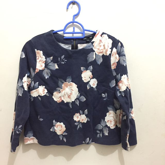 HnM Basic Floral Blouse
