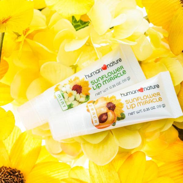 Human Nature Sunflower Lip Miracle