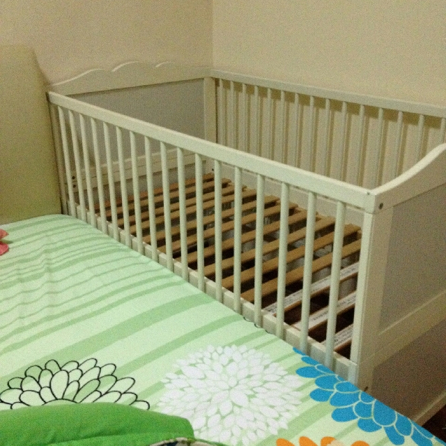 Ikea Baby Cot With Matress Katil Bayi Babies Kids Others On Carou