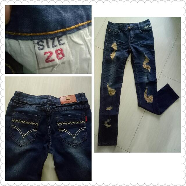 IMPORT BKK jeans navy