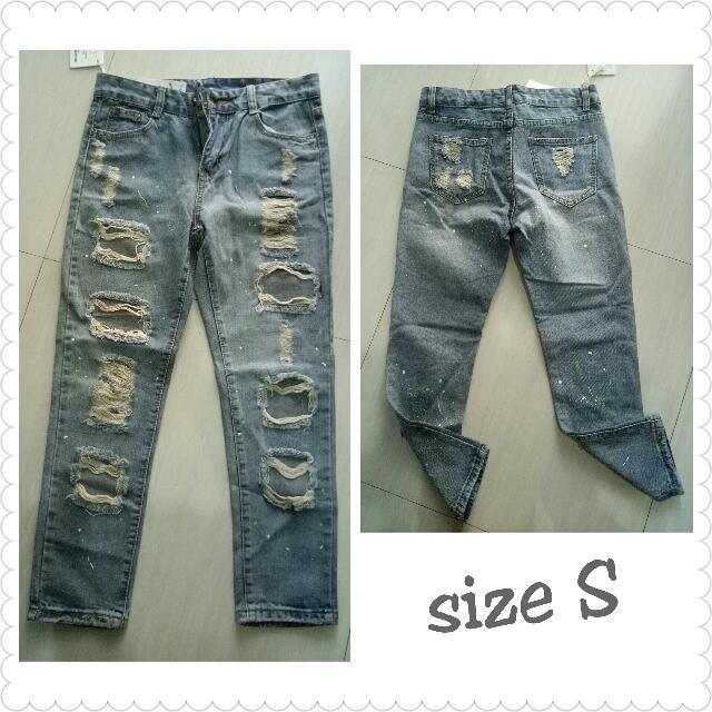 IMPORT BKK jeans sobek