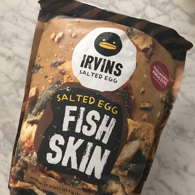 Irvins Fish Skin Salted Egg