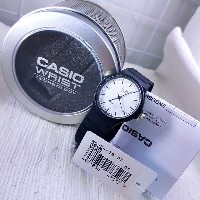 Casio Jam Tangan Pria Analog Mq 24 1b - Daftar Harga Terlengkap ... 11739557e2