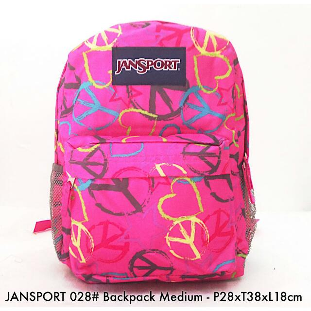 JANSPORT BACKPACK MEDIUM