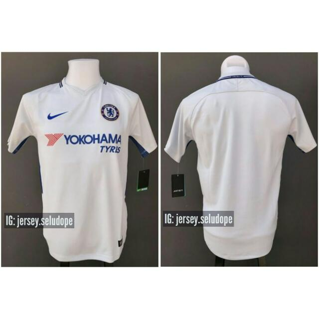 hot sale online 4be9e a2b83 JERSI CHELSEA FC AWAY KIT 2017/2018 (New!!)