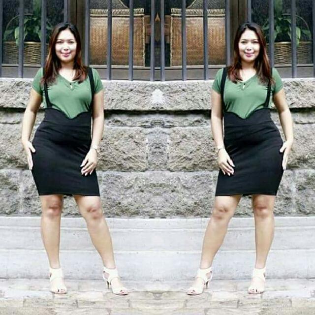 JUMPER DRESS PLUS SIZE, Women\'s Fashion, Clothes, Dresses & Skirts ...