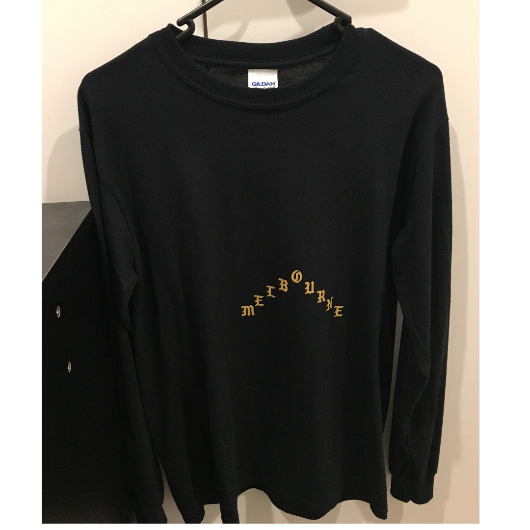 Kanye West TLOP Melbourne Long Sleeve Tee
