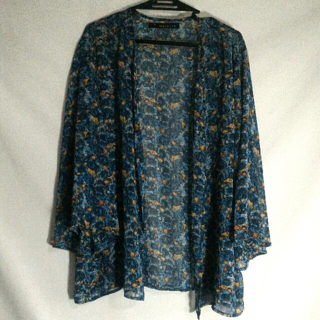 Kimono Style Cover Up From Maldita