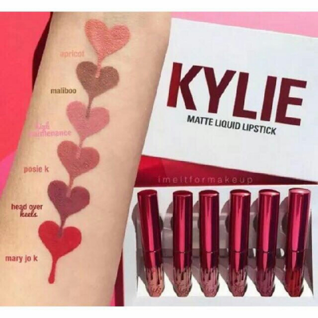 Kylie Liquid Matte Lippies