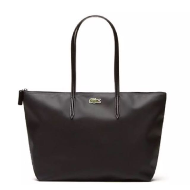 Lacoste  BLACK CONCEPT LARGE SHOPPING BAG