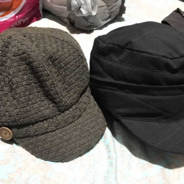 Ladies Hats/Caps Both In Excellent Condition!