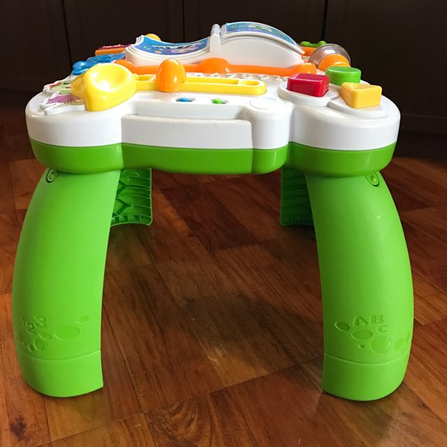 Leap Frog Activity Table, Babies & Kids, Toys on Carousell