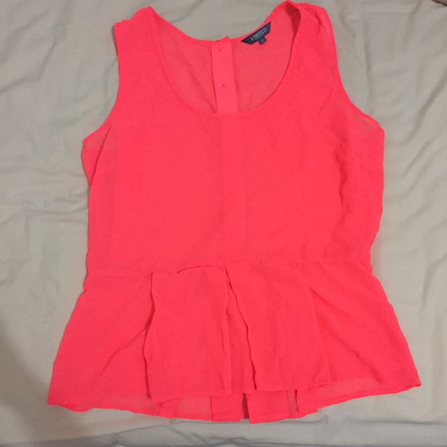 Limited Collection (Mark&Spencer) Peplum Blouse