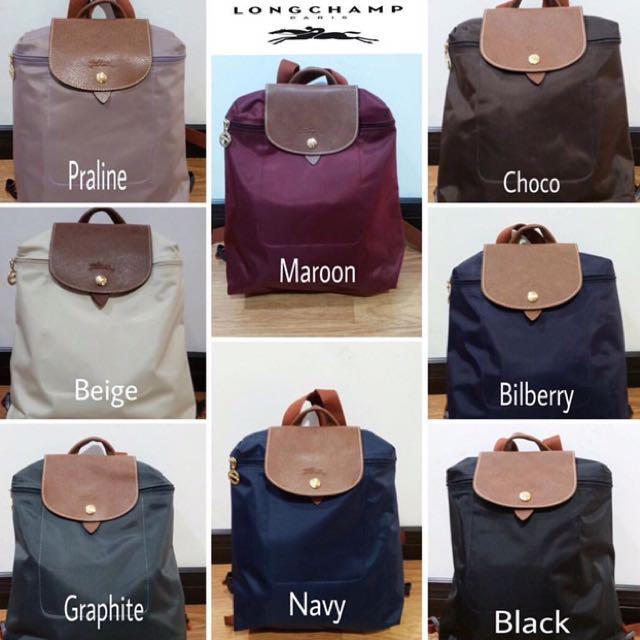Longchamp Le Pliage & Neo Backpack