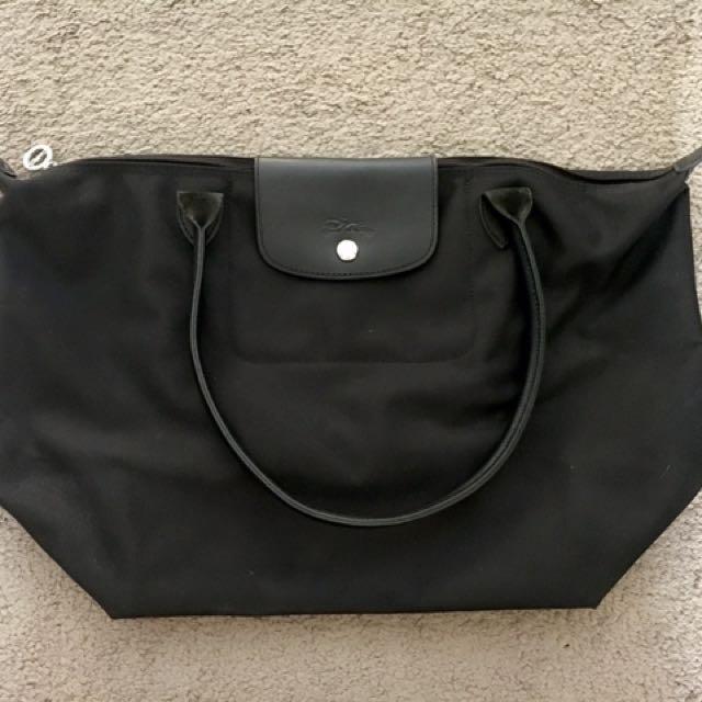 Longchamp neo Black Medim