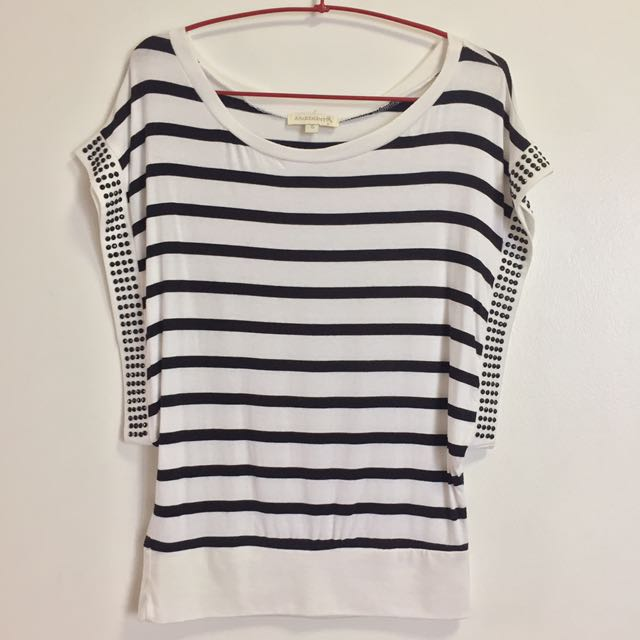 ‼️REPRICED ‼️Loose Striped Top
