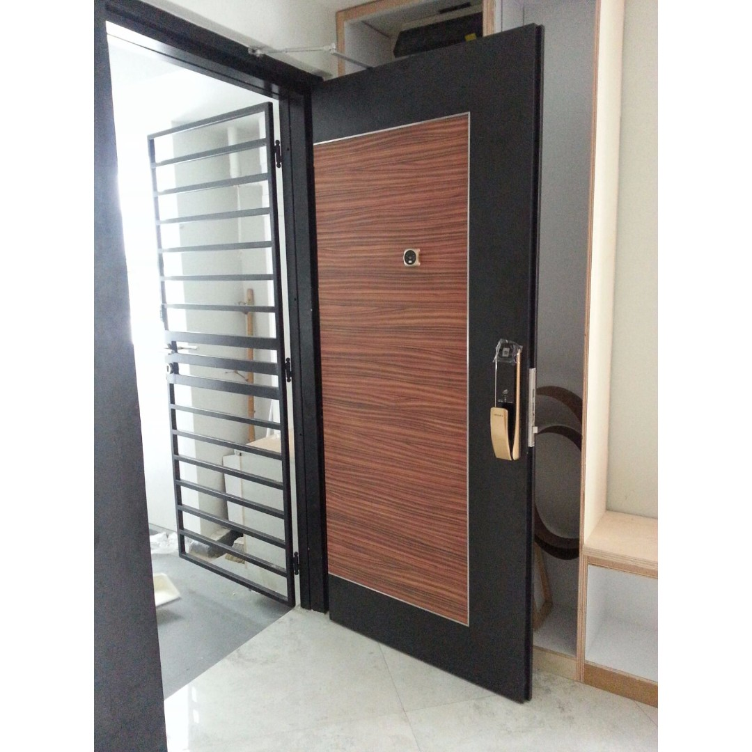 Main Door Gate Fingerprint Digital Lock Promotion For