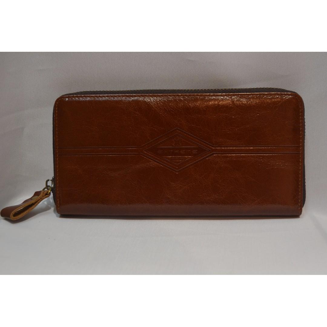 67d30a5b1 MEN'S - CLUTCH BAG] Leather Clutch Bag T12, Men's Fashion, Bags ...