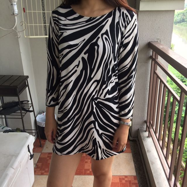 Michael Kors Zebra Dress