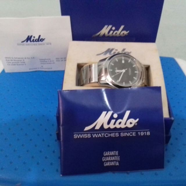 MIDO SWISS WATCH
