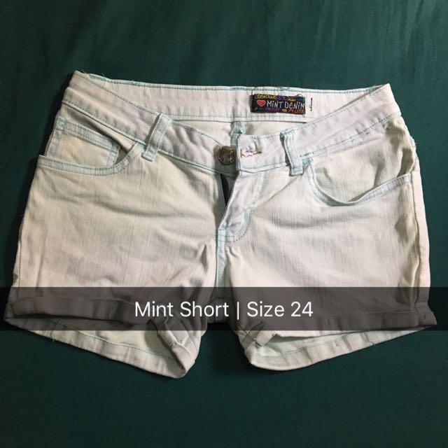 Mint Short