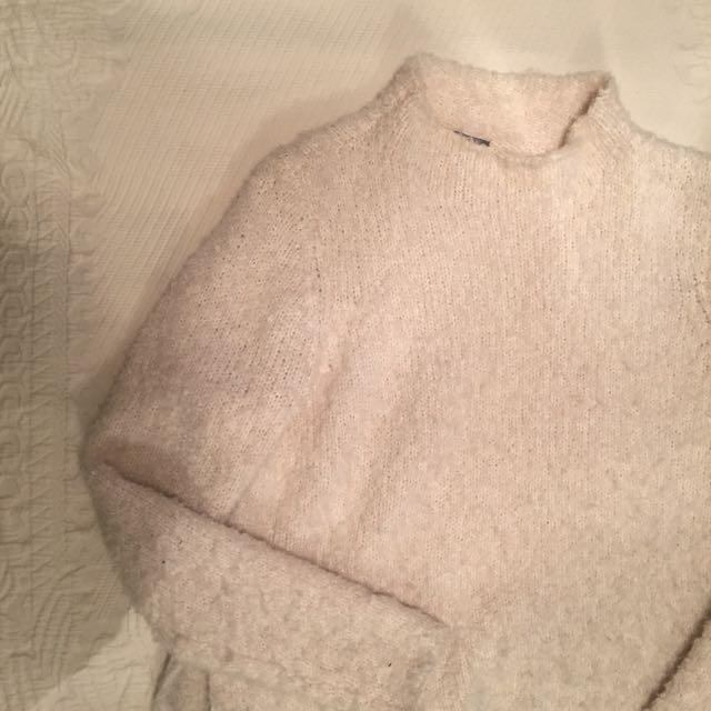 Mock Neck Sweater (Aerie)