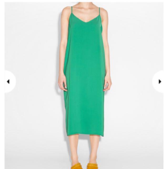 Monki 綠色洋裝
