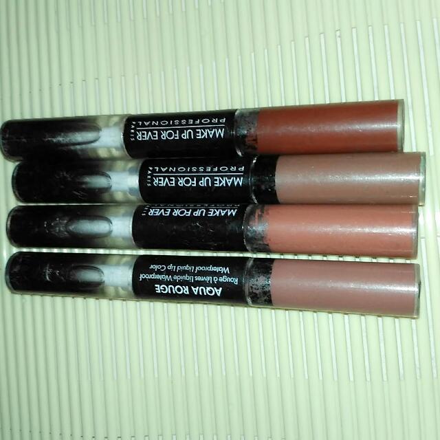 Mufe Aqua Rouge Liquid Lipstick