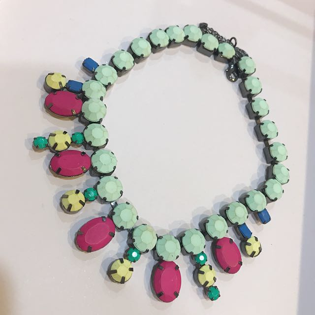 Neon Colorful Necklace