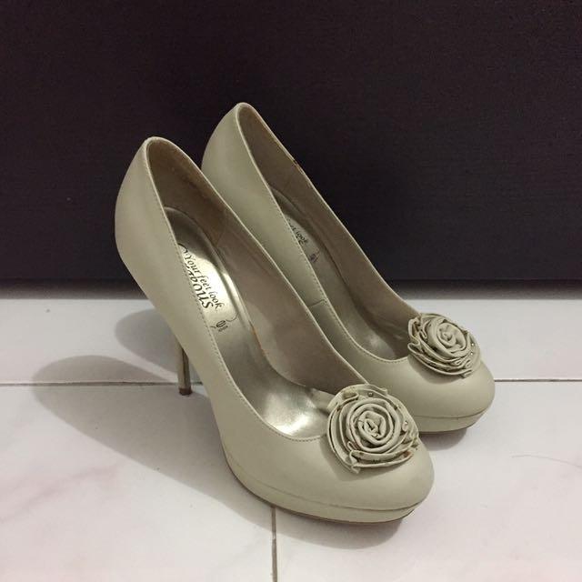 New Look Flower Heels