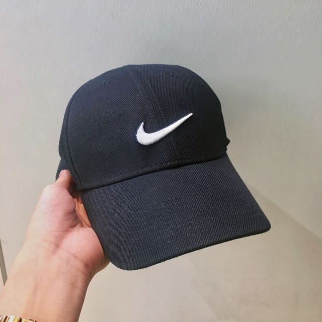 Nike cap棒球帽深藍色