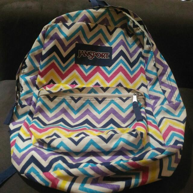 Repriced Original Big Jansport Bag Repriced