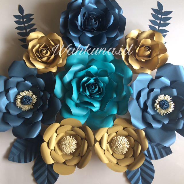 Paper Flower By Wahkuna