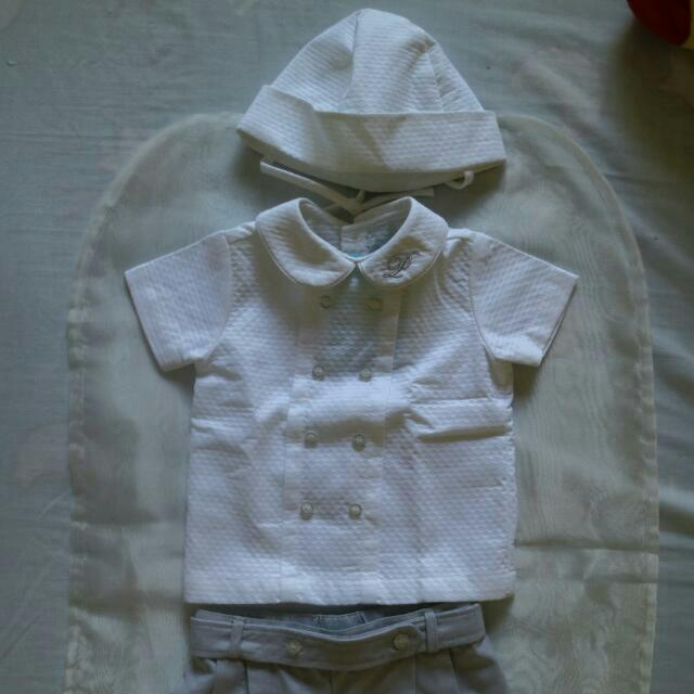 Periwinkle Junior Christening Set Outfit