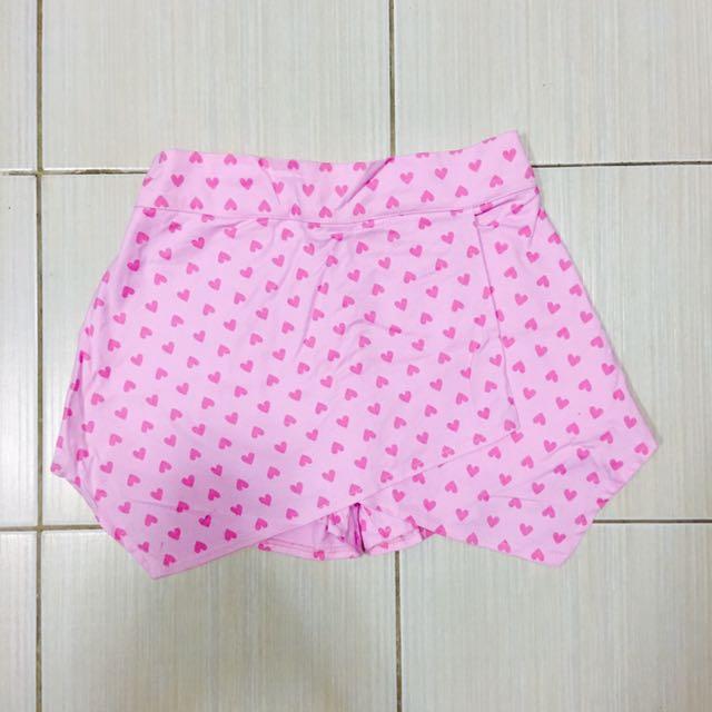 Pink Origami Shorts