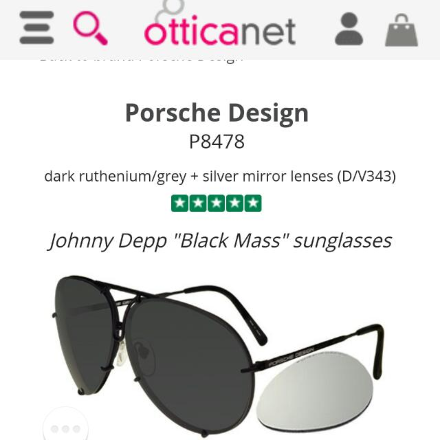 Porsche 8478 Sunglasses