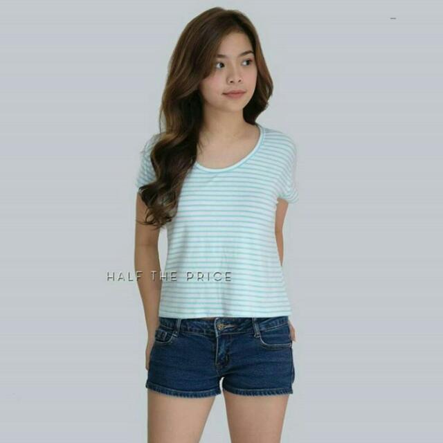 Preloved HTP Striped Shirt