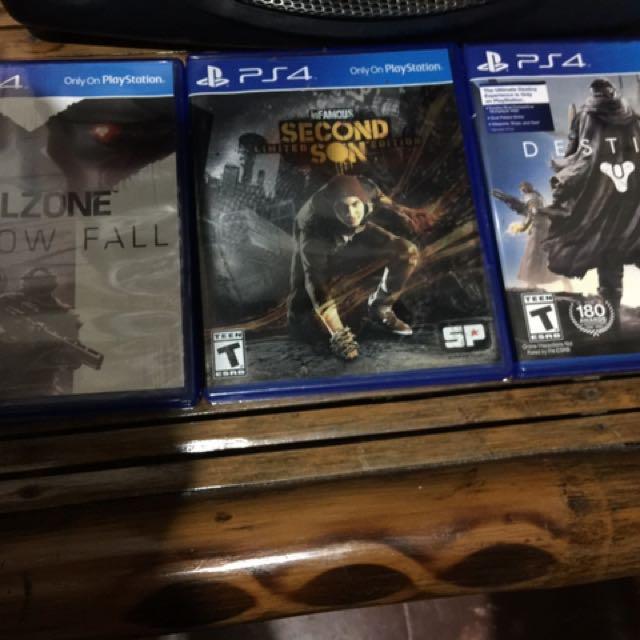 PS4 GAMES!!!
