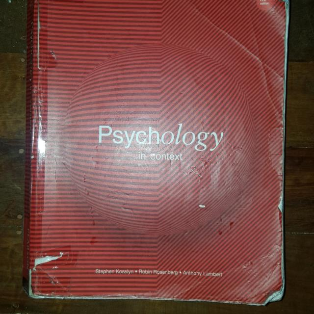 Psychology in Context
