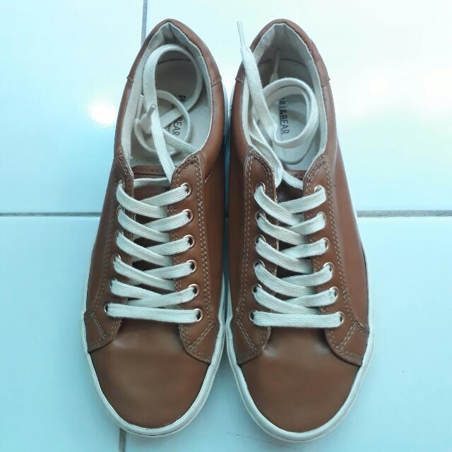 Pull & Bear Brown Casual Shoes