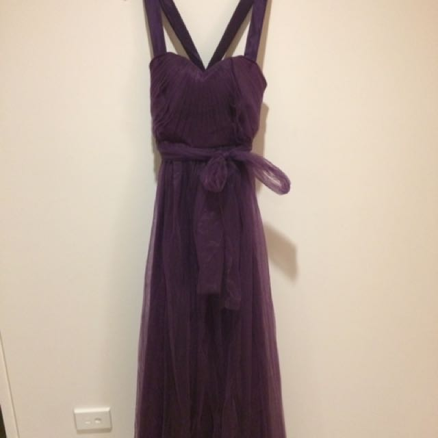 Purple Infinity Dress