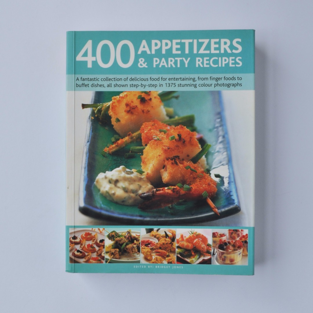 Recipe book 400 appetizers party recipes books stationery recipe book 400 appetizers party recipes forumfinder Images