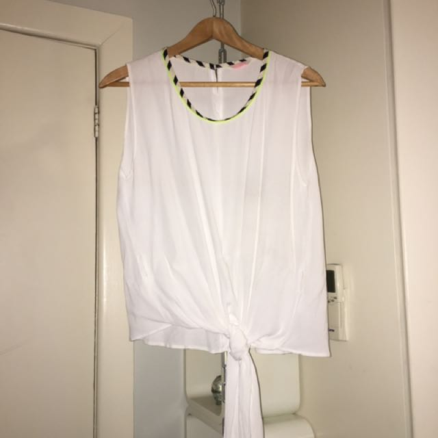 Sass And Bide Singlet Size Small