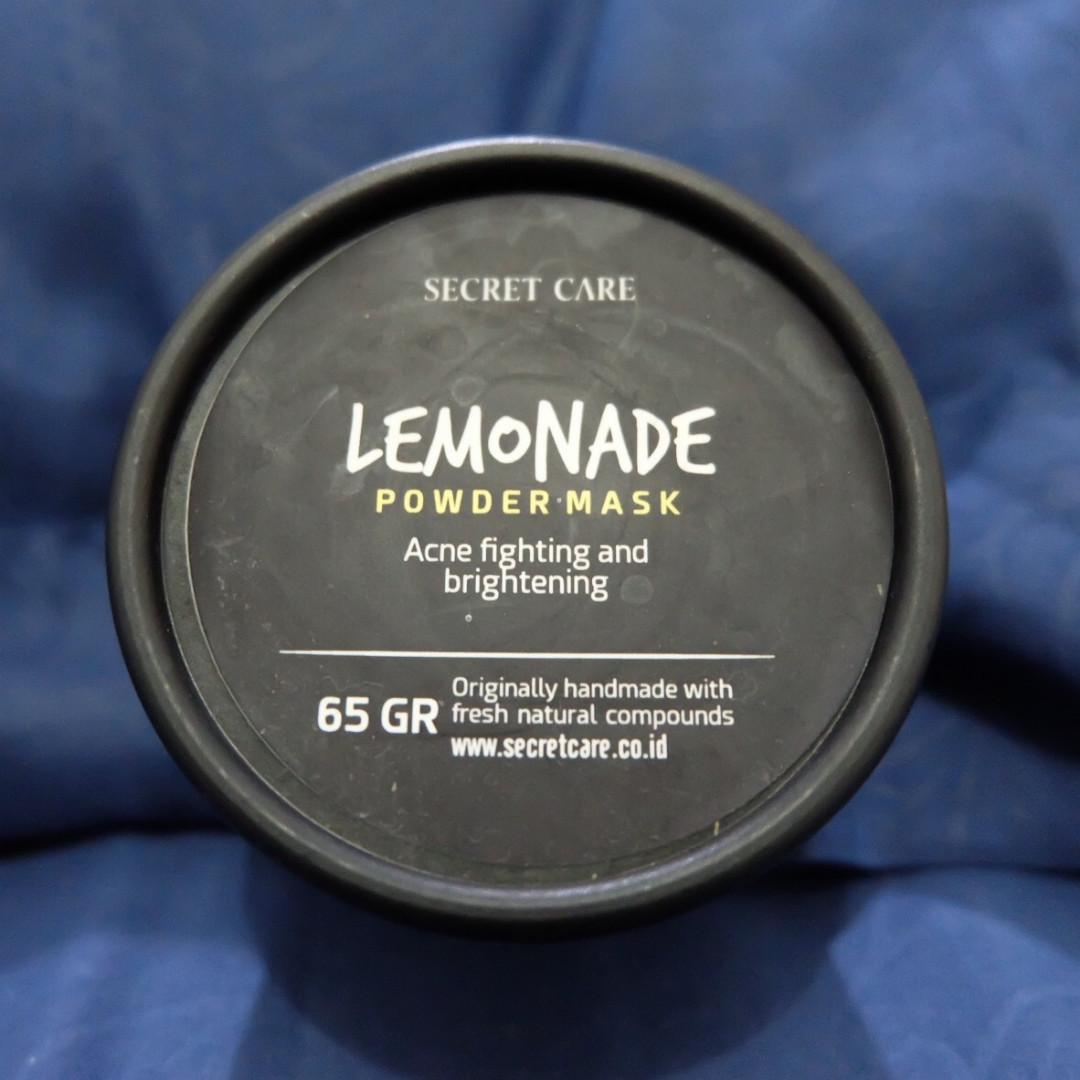 Secret Care Lemonade Powder Mask