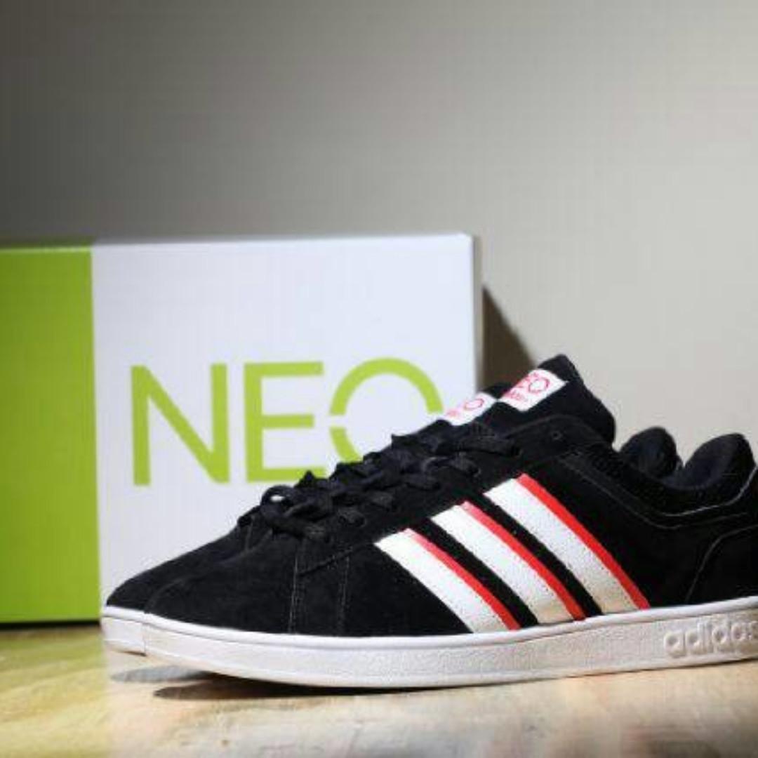 Sepatu Casual Pria Adidas Neo Derby Sepatu Kuliah 96cddcf629