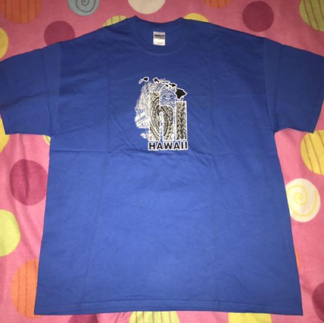 Souvenir Blue Shirt From Hawaii