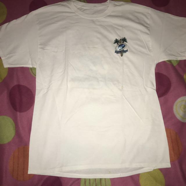 Souvenir White Tshirt From Hawaii