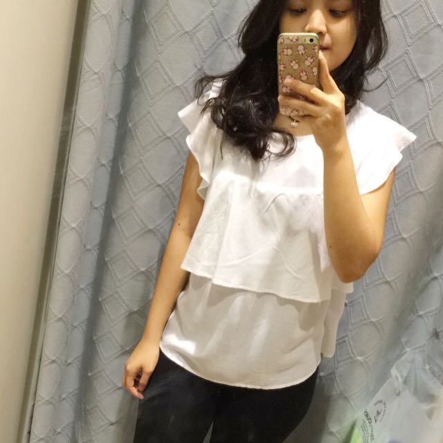 Stradivarius White Top